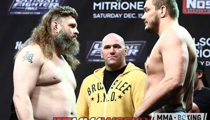 03 Roy Nelson Matt Mitrione TUF Finale 16 weigh